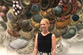 Seniman AS dorong konservasi terumbu karang lewat instalasi