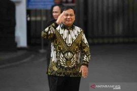 Prabowo Subianto ditunjuk jadi Menteri Pertahanan
