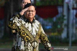 Prabowo Subianto menjadi Menteri Pertahanan