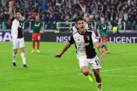 Hasil Liga Champions, Dwigol Dybala bawa Juventus unggul