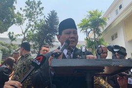 Prabowo Subianto minta waktu pelajari situasi sebelum mulai bekerja