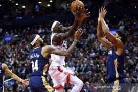 Raptors menangi laga pembuka NBA