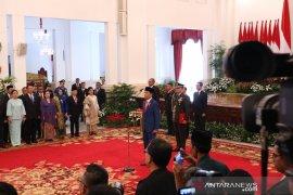 Presiden telah lantik menteri dan pejabat setingkat Kabinet Indonesia Maju