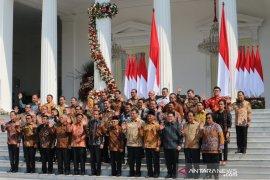 Tim ekonomi Jokowi di Kabinet Indonesia Maju