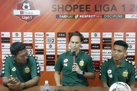 Pelatih Bhayangkara: Hasil imbang dengan Persib terasa seperti kalah