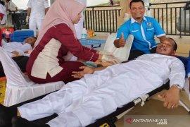 Donor darah, meriahkan peringatan Hari Santri Nasional di Aceh Timur