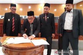 Bupati Aceh Jaya sampaikan sejumlah target pada rapat paripurna rancangan KUA dan PPAS APBK 2020