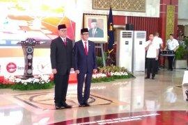 Dilantik kembali Menkumham, Yasonna Laoly mundur dari DPR