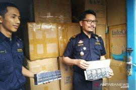 Bea Cukai Jambi gagalkan pengiriman jutaan batang rokok ilegal