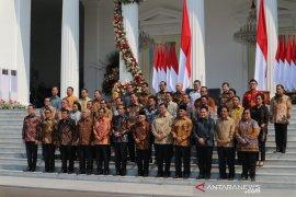 Presiden Joko Widodo perintahkan 7 hal untuk para menterinya