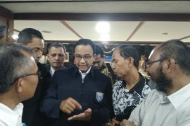Kabinet baru, Anies nyatakan DKI siap kerja bersama