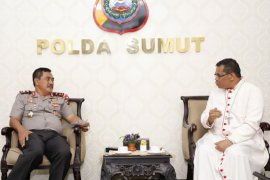 Kapolda Sumut berharap Keuskupan Agung Medan ikut dukung Kamtibmas