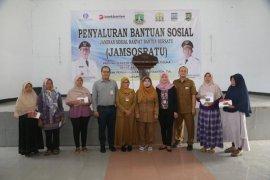 Bank Banten lanjutkan penyaluran Jamsosratu tahap II