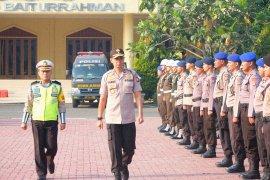 Polda Banten Apel Gelar Pasukan Operasi Zebra Kalimaya 2019