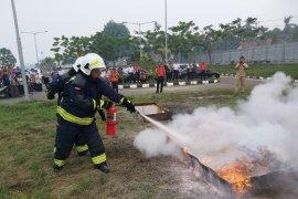 AP II Bandara Jambi gelar sosialisasi pencegahan kebakaran secara dini