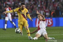 Hasil Liga Champions: Barcelona vs Slavia 2-1, Messi ukir rekor baru
