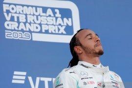 Lewis Hamilton berpeluang kunci gelar juara dunia di GP Meksiko