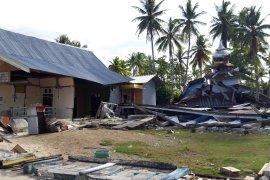 RSUD Halmahera Selatan rusak karena gempa