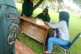 Berbusana tidak islami, sejumlah warga di Aceh Barat terjaring razia