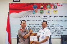BNNP Malut luncurkan program aplikasi Serdadu tegakkan hukum