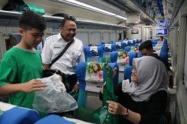 Jumlah penumpang KA dari Daop Surabaya capai 50.000 orang