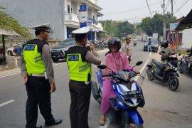 Polres Bangka Barat jaring 40 pelanggar saat Operasi Zebra Menumbing