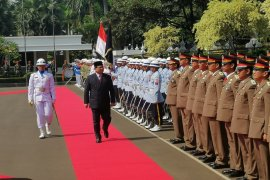 Prabowo nyatakan bekerja keras perkuat TNI jaga kedaulatan NKRI