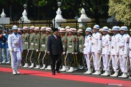 Menhan Prabowo akan perkuat TNI jaga kedaulatan NKRI