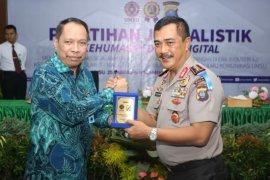Kapolda Sumut: Pelatihan kehumasan Polri untuk tingkatkan pelayanan masyarakat