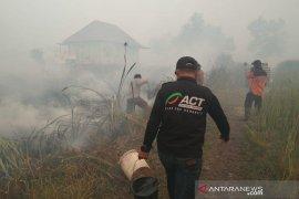 ACT bereaksi cepat saat api dekati pemukiman warga