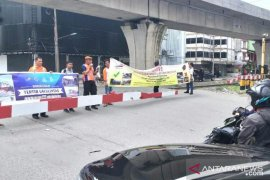79 kecelakaan di perlintasan kereta api di Sumut