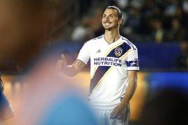 Ibrahimovic mengaku belum tentukan langkah setelah kontrak habis di LA Galaxy