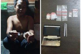 Berdasar laporan dari masyarakat, Polisi Binjai Utara ringkus pemilik sabu-sabu