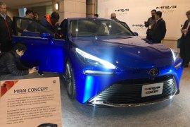 Wuih, mobil hidrogen Toyota Mirai baru curi perhatian pengunjung Tokyo Motor Show