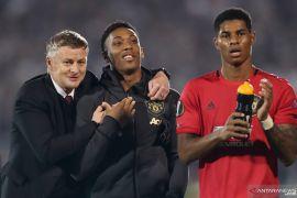 Liga Europa - Man United raih kemenangan berkat penalti Martial