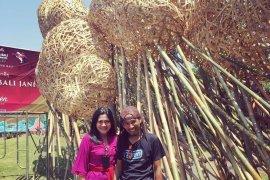 "Seni instalasi ""percantik"" Taman Budaya Bali"