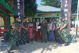 PAM perbatasan Kodam Sriwijaya terima senjata api