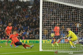 Hasil Liga Inggris: Everton kalah, Watford tak kunjung menang