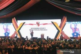 Presiden hadiri peresmian pembukaan Mubes Pemuda Pancasila