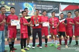 Rutan Mentok juarai turnamen futsal Karutan Cup 2019