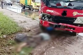 Seorang pengendara tewas kecelakaan saat hendak melayat
