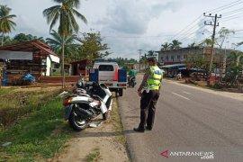 Lakalantas Vario kontra Nmax di Aceh Timur, dua luka-luka.