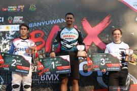 Pebalap Britania Raya menangi hari pertama Banyuwangi International BMX 2019