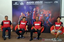 Animo tinggi, audisi bulu tangkis digelar di Solo Raya