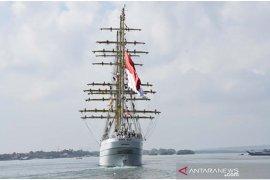 Tinggalkan Bali, KRI Bima Suci-945 menuju Darwin