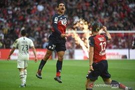 Lille bekuk Bordeaux untuk tembus tiga besar Liga Prancis