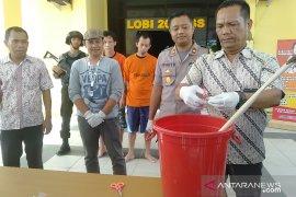 Polres Singkawang musnahkan barang bukti 26,86 gram sabu
