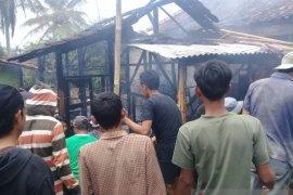 Tiga rumah di Sukabumi kebakaran