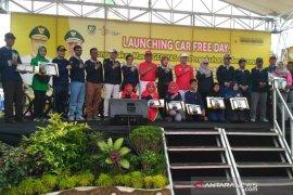 """Warga Bengkulu antusias ikuti """"car free day"""", kurangi polusi"""