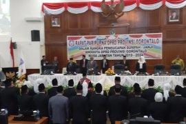 Gubernur Gorontalo terbitkan SK pemberhentian anggota DPRD